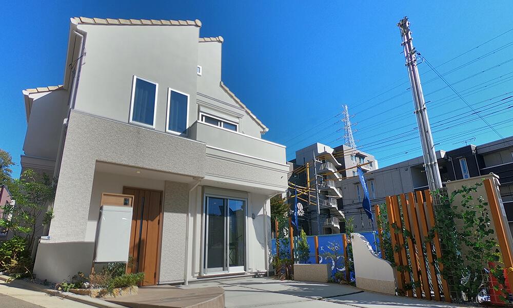 武蔵中原のデックスの建売住宅
